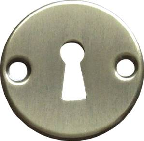 X15-490 Round Door Escutcheon Antique Brass