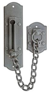Ferramenta 63-110 Security Door Chain Antique Black