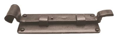 X32-085 Dartington Door Bolt Cranked with Mortice Plate