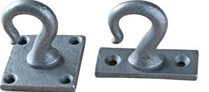 X30-911 Ceiling Hook 50x50mm Patine