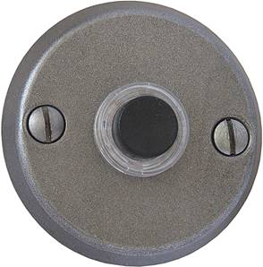Round Esprit de Forge Bell Push (2amp) 52mm Diam.19-491 Black