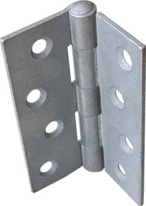 Strong Steel Butt Hinge 100 x 74mm