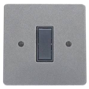 1 Gang 20amp Double Pole Rocker Switch 19-500 Black