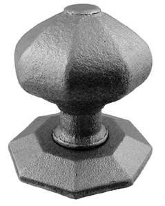 Octagonal Fixed Door Knob 32-518