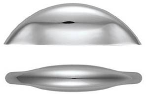 X45-970 Pininfarina Pull Handle 58mm Satin Nickel