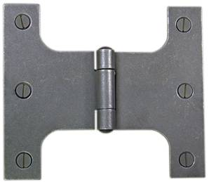 Heavy Parliament Hinge Pressed 125 x 100 x 160mm Patine