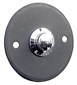 Door Bell Push Button Round 63-190 Antique Black