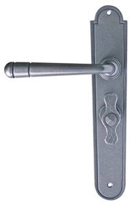 X42-000 Farro Latch Lever Patined