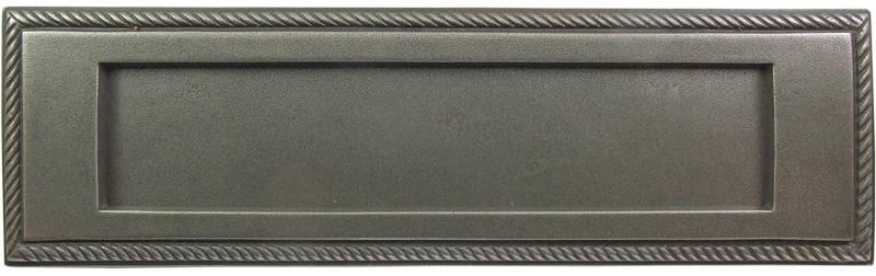 X05-001 Georgian Rope Letterplate 255x75mm OA Patine