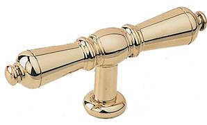 X02-425 Languedoc Cabinet Pull Satin Brass
